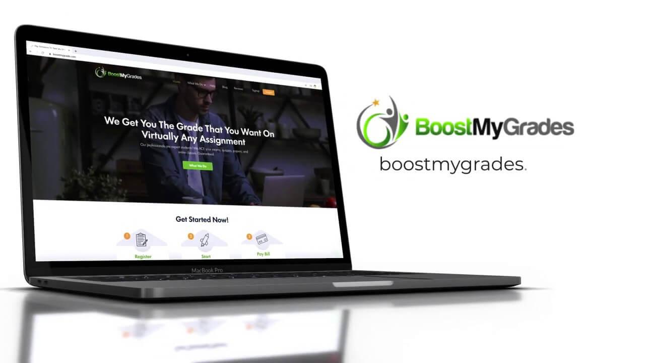 boost my grade video banner