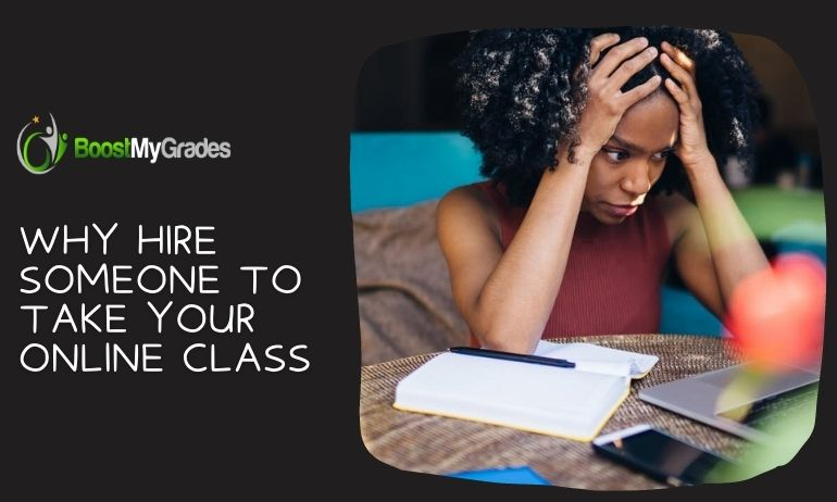 Why Hire Someone To Take Your Online Class