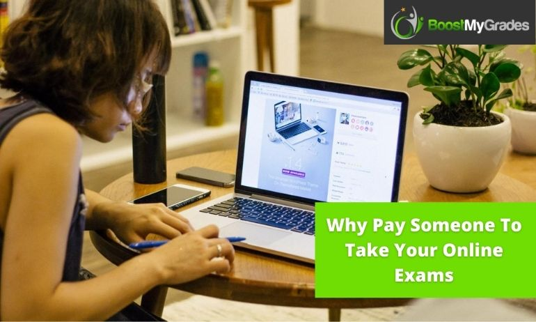 pay someone to take online exams